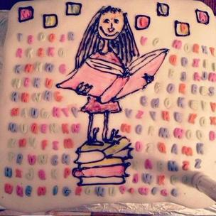 @MatildaMusical #GBBO #matildabakeoff Drawing with an icing pen is hard ok! Haha! http://t.co/bed0NsoIbT