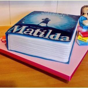 #MatildaBakeOff @matildathemusical made this for my friends crazy-mad Matilda fan daughter! #lovematilda #roalddahl http://t.co/42TOYbKPMp
