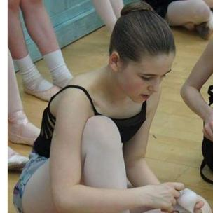 Georgina Warren -Love,aged 12 from Derbyshire.  My daughter gives me a reason to get up every day after my husband, her daddy died 4 years ago. She is a talented singer and dancer ...this picture is taken at rehearsals for English Youth Ballet 's  production of Giselle.