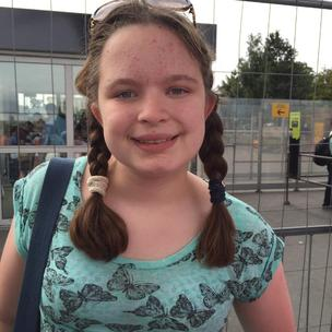 Martha Blake, (12) Marlow. This little girl has struggle through her primary school career. She didn't see herself as clever, smart or brainy. As she left primary school and entered the world of secondary she was diagnosed with ASD which helped her understand why she was