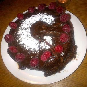 Chocolate cake of dreams