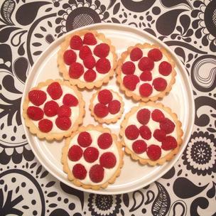 Raspberry Cakelets
