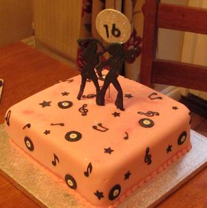 I hope this cake is music to your ears We've longed to see Matilda for many many years