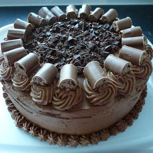 The ultimate chocolate cake for Bruce Bogtrotter